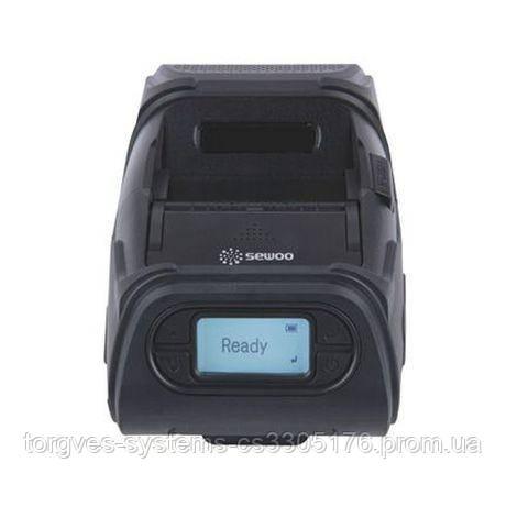 Мобильный принтер чеков-этикеток Sewoo LK-P12IINSB (USB+RS-232+Bluetooth)