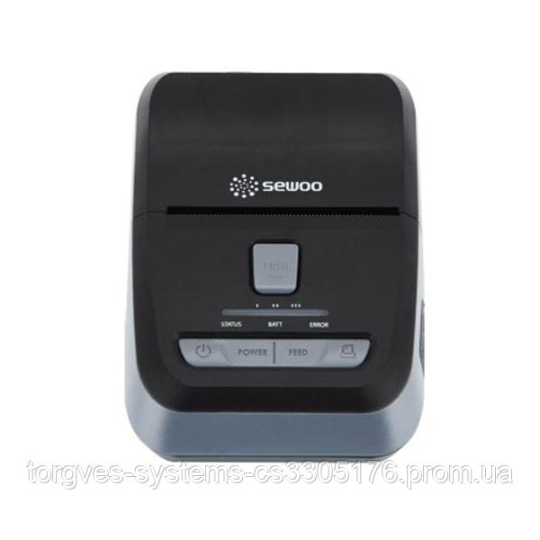 Мобильный принтер чеков этикеток Sewoo LK-P24SB (USB+Bluetooth)
