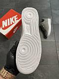 Мужские кроссовки  Nike Air Force 1 Low Grey (копия), фото 6
