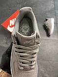 Мужские кроссовки  Nike Air Force 1 Low Grey (копия), фото 3