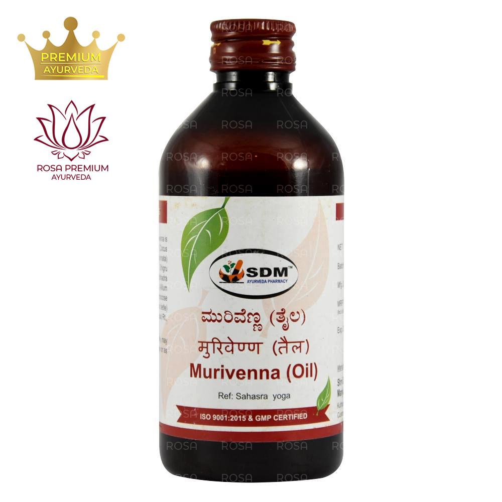 Муривенна Тайла (Murivenna Taila, SDM), 200 мл - Аюрведа премиум качества