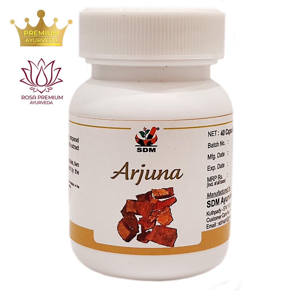 Арджуна капсулы (Arjuna Capsules, SDM), 40 капсул - сердечный тоник