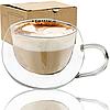 """Стеклянная чашка с двойной стенкой """"Ampio"""" (300 мл.)"""