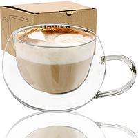 """Стеклянная чашка с двойной стенкой """"Ampio"""" (300 мл.), фото 1"""