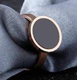 Кольцо розовое золото с фианитом размер 6, фото 2