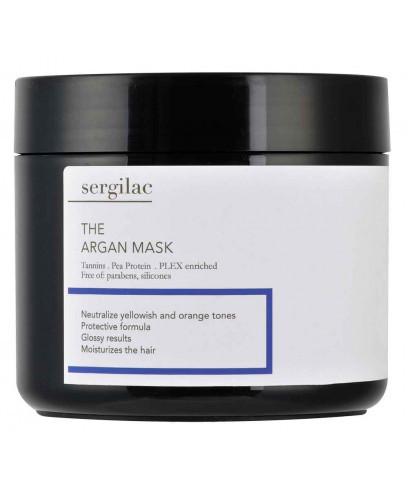 Маска с аргановым маслом для волос SERGILAC 500 мл.