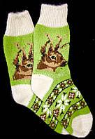 Шкарпетки жіночі з овечої шерсті