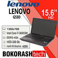 Ноутбук IBM Lenovo G-580 / Intel core i7 -3630QM / HDD-320GB  / DDR3-4GB  (к.119535), фото 1