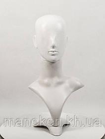Бюст з підставкою Аватар PN2 (білий) (032)