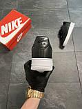 Мужские кроссовки  Nike Air Force 1 Low Black (копия), фото 5