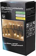 Гирлянда LEX 400er LED Cluster-Lichterkette