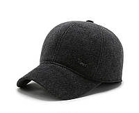 Зимняя теплая мужская бейсболка кепка с ушами