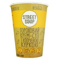 Крем-суп гороховый с курицей STREET SOUP, 50 г (стакан)