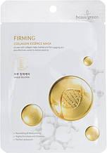 Тканинна маска на основі морського колагену BeauuGreen Premium Firming Collagen Essence Mask