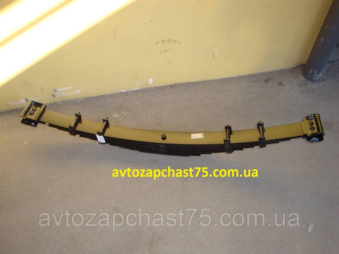 Ресора Газ 53 , Газ 3307 передня (12-ти листова) виробник ЧМЗ, Росія)