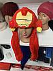 Светящаяся Шапка детская - Кугуруми - Железный человек (Iron man Marvel), фото 4
