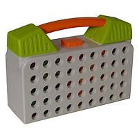 Мозаика конструктор с шуруповертом Limo Toy M5480, 129 шт., зеленая, фото 6