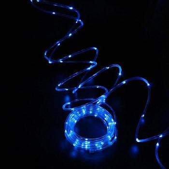 Гирлянда с USB Xmas Pipe B-3, 100 LED-ламп, 10 м, синий свет