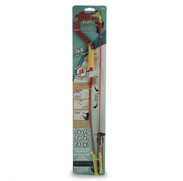 Набір для чищення труб The Drain Weasel Plus, 2 троса + ручка