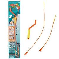 Набір для чищення труб The Drain Weasel Plus, 2 троса + ручка, фото 2