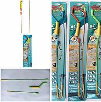 Набір для чищення труб The Drain Weasel Plus, 2 троса + ручка, фото 5