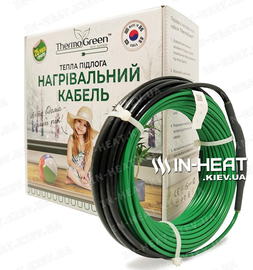 Нагревательный кабель ThermoGreen CT20 / 80 м / 6.4 - 9 м² / 1600 Вт