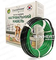 Нагревательный кабель ThermoGreen CT20 / 80 м / 6.4 - 9 м² / 1600 Вт, фото 1