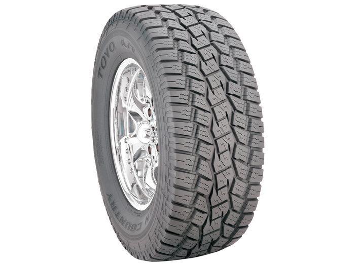 Б/у Всесезонная шина Toyo Open Country A/T 275/65 R17 115T.