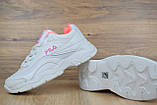 Кросівки розпродаж АКЦІЯ 550 грн останні розміри FILA 39й(24,5 см) копія люкс, фото 4