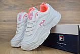 Кросівки розпродаж АКЦІЯ 550 грн останні розміри FILA 39й(24,5 см) копія люкс, фото 3
