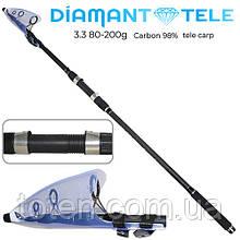 """Спининнг телекарп """"Diamant"""" 80-200г 3.3м SF24080 (25шт) Н"""