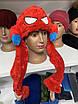 Светящаяся Шапка детская - Кугуруми - Человек паук (Spiderman), фото 2