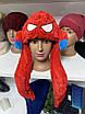 Светящаяся Шапка детская - Кугуруми - Человек паук (Spiderman), фото 4