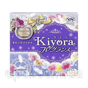 Ежедневные гигиенические японские прокладки Sofy Kiyora Relax, 72 шт