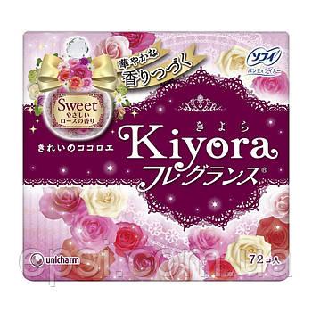 Ежедневные гигиенические прокладки Sofy Kiyora Sweet, 72 шт