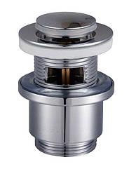 HG-041B - Click-clack--Донний клапан Круглий Латунь,Універсальний