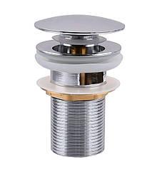 HG15-03A Click-clack--Донний клапан Метал--З переливом