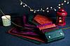 """Обложка с пеналом для ежедневника формата А5 """"Модель №16"""", Винтажная кожа, цвет Зеленый, Оттиск №3, фото 6"""