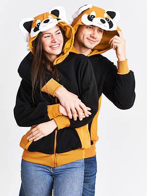 Толстовка - пайта - худи - Енот - Одежда для дома
