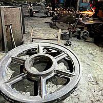 Стальное, чугунное литейное изготовление деталей по тех. заданию, фото 9