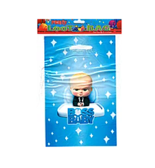 """Пакеты подарочные детские для подарков """"Босс Молокосос"""", 10 штук"""