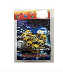 """Пакеты подарочные детские для подарков """"Миньоны """", 10 штук"""