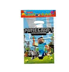 """Пакеты подарочные детские для подарков """"Майнкрафт """", 10 штук"""