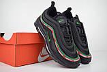 Кроссовки распродажа АКЦИЯ 650 грн последние размеры Nike Air Max 97 UNDEFEATED 41(26.5см) люкс копия, фото 4