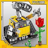Конструктор Робот ВАЛЛ-И в цветной коробке., фото 4