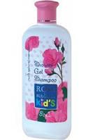Шампунь и гель для душа 2 в 1 для детей Болгарская роза