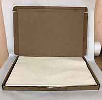 Силиконизированная бумага белая односторонняя в листах 400х600 мм (упаковка 500 листов), фото 1