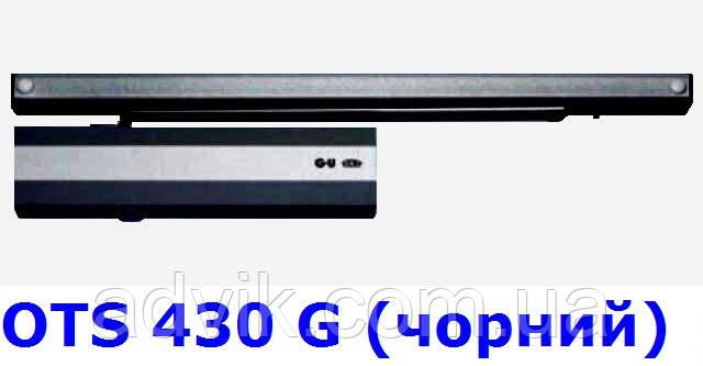 Доводчик G-U OTS 430 G (440 G) з ковзною тягою (чорний)