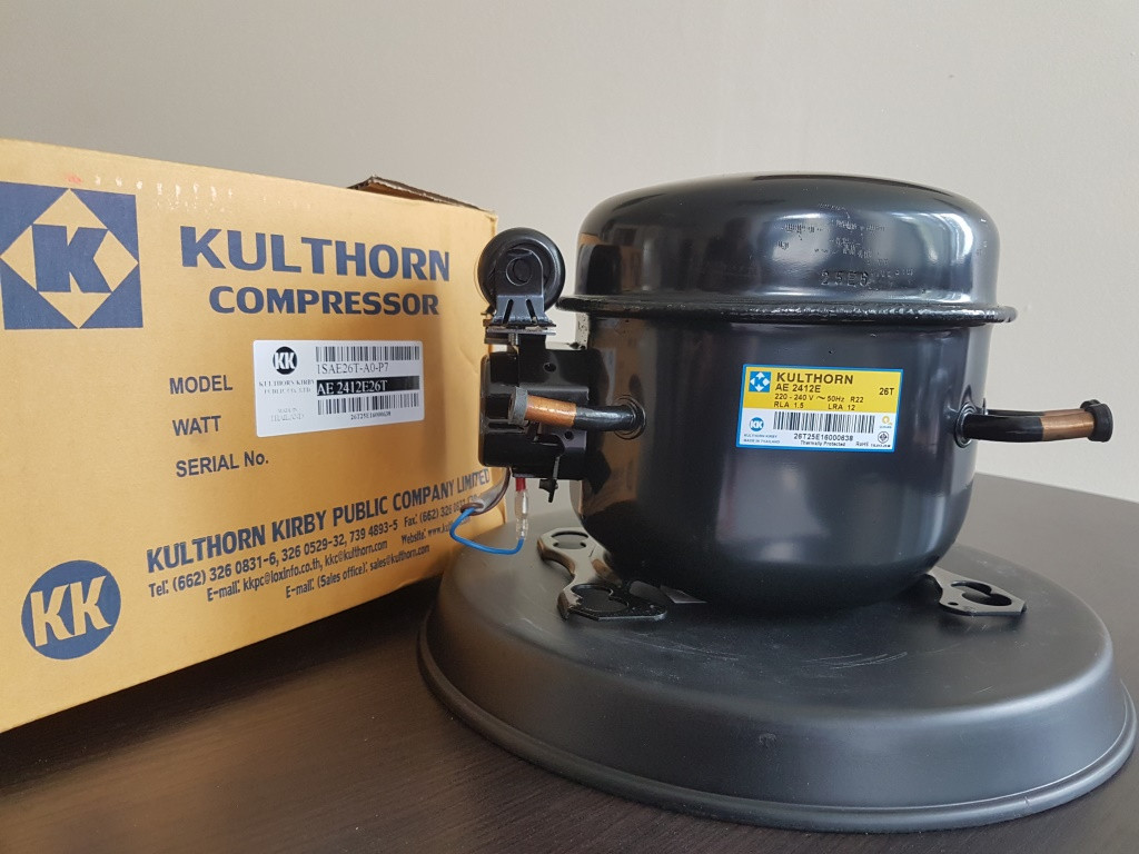 Холодильный компрессор KULTHORN KIRBY AE 2412E (340Вт LBP R22)