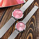 Женские часы CK 2140CF Silver-Pink Big, фото 3